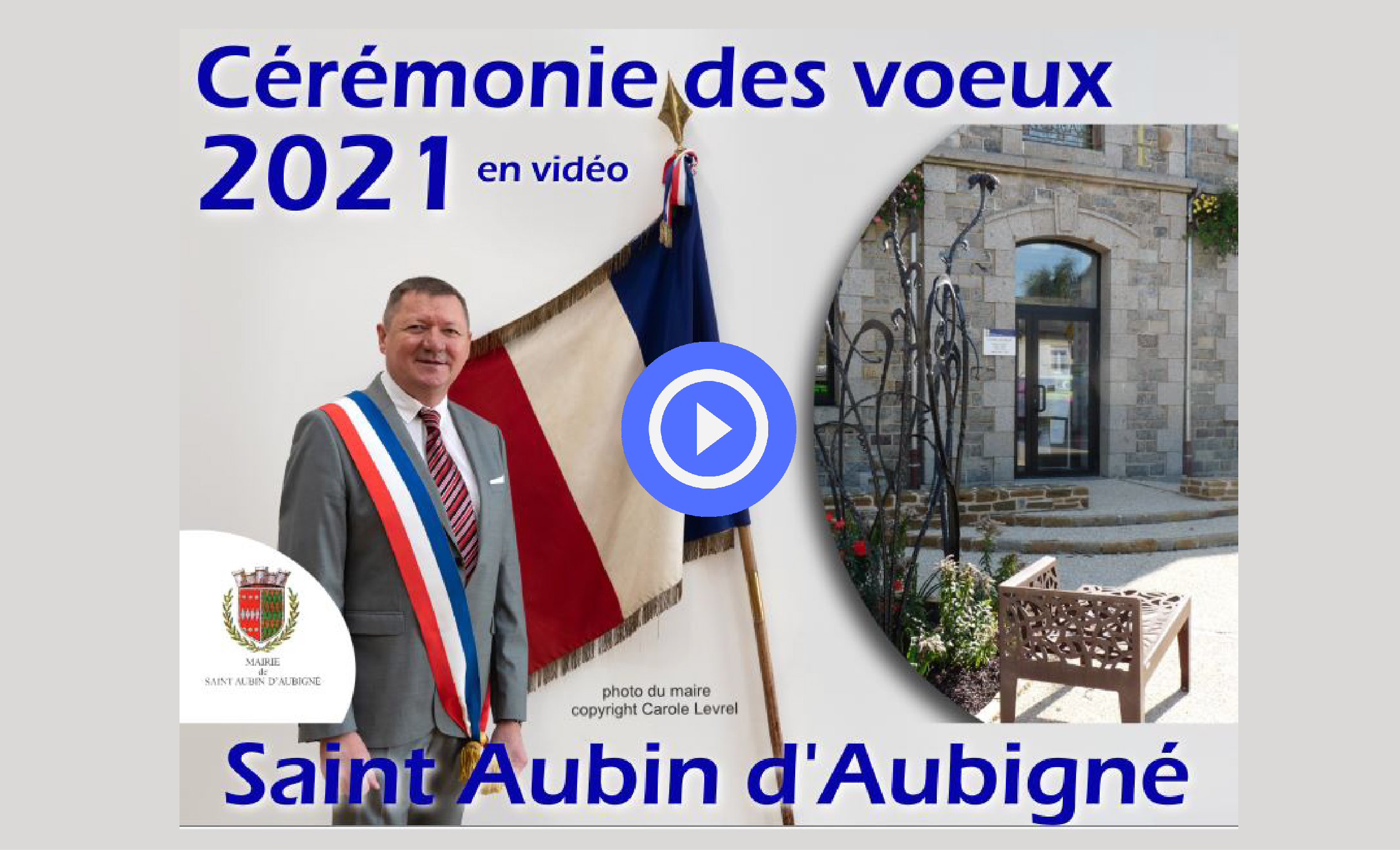 cérémonie des vœux 2021 en vidéo