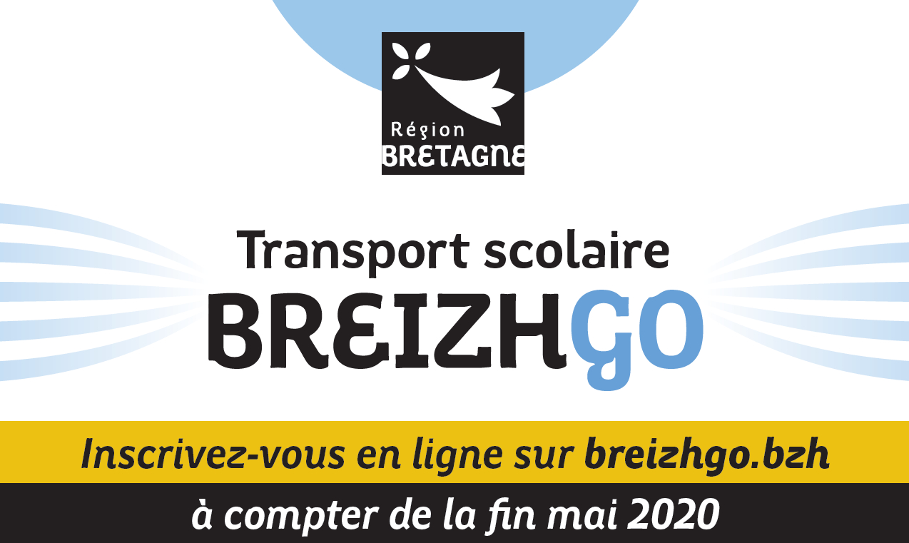 Inscription au transport scolaire BreizhGo