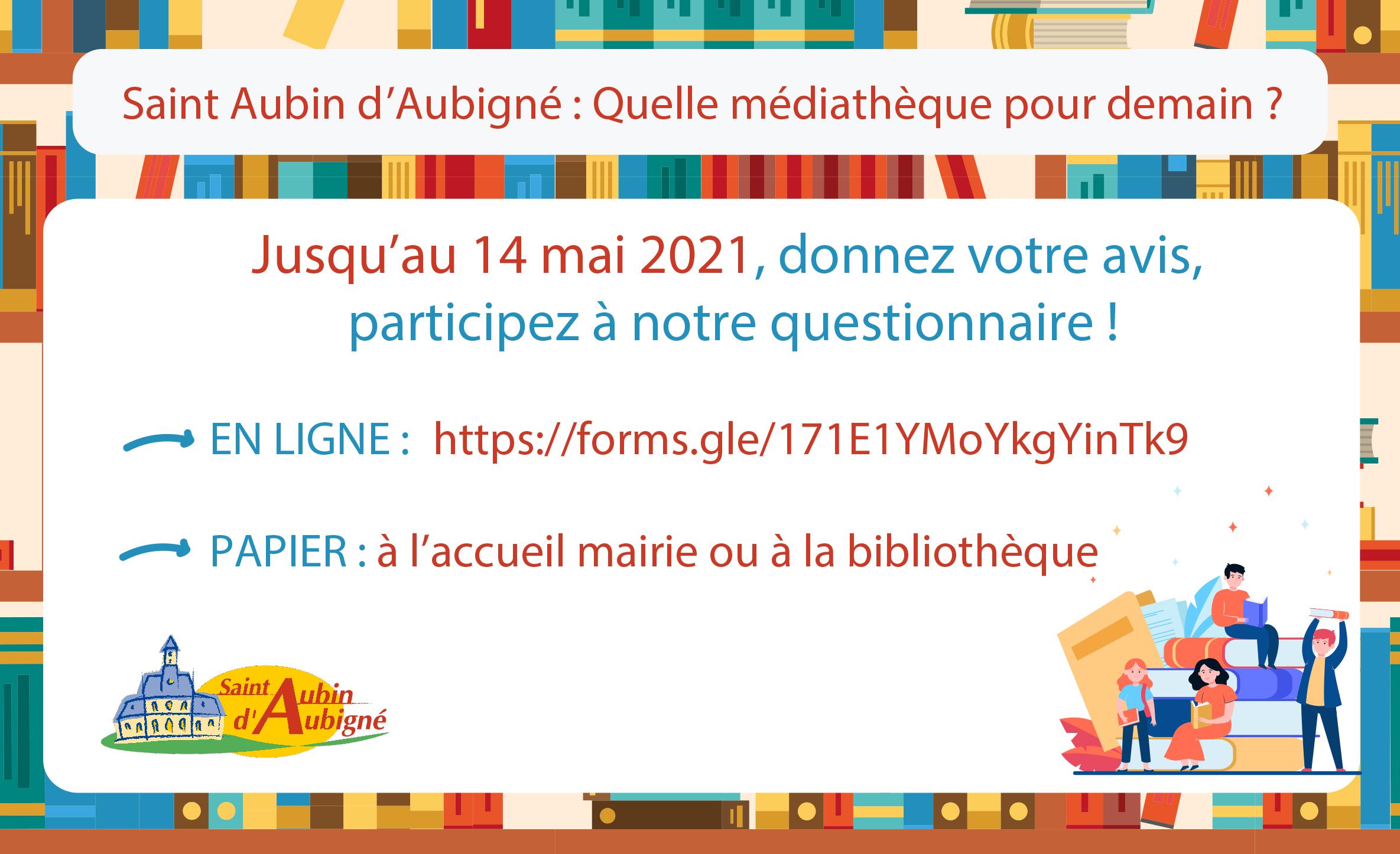 Saint Aubin d'Aubigné : Quelle médiathèque pour demain ?